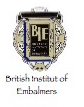 Mitglied of the British Institute of Embalmers